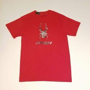 Spyder Men's Logo Print Red T-Shirt Size M